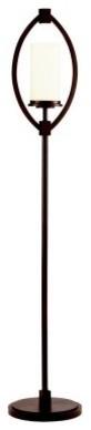 Kichler Neptune Place 74335CA Floor Lamp - 11 in. - Colton Bronze modern-floor-lamps