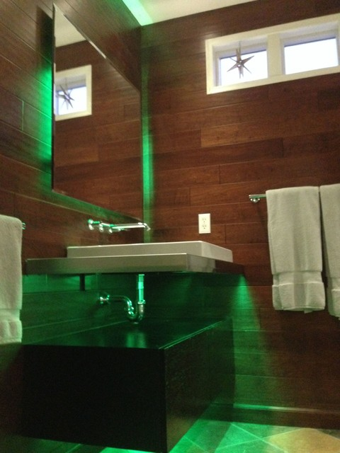 Led Bathroom Lighting Modern Bathroom St Louis By