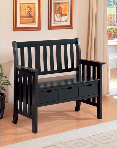 Wooden Entryway Bench Home Products on Houzz