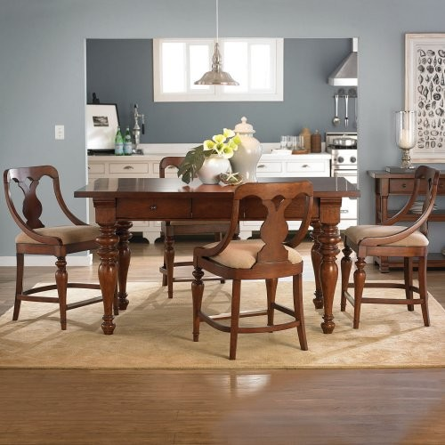American Drew Fulton County Counter Height Table traditional dining tables