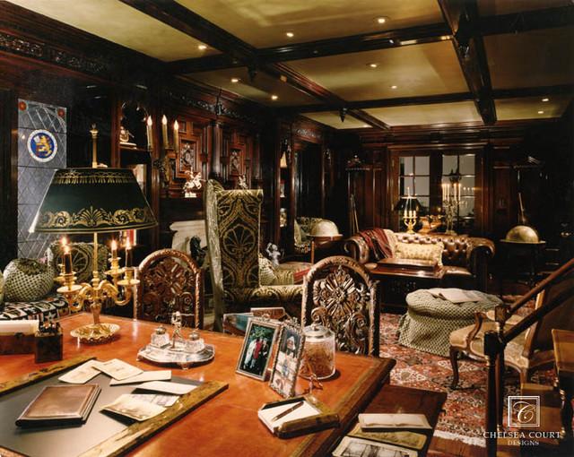 Traditional den for Home den