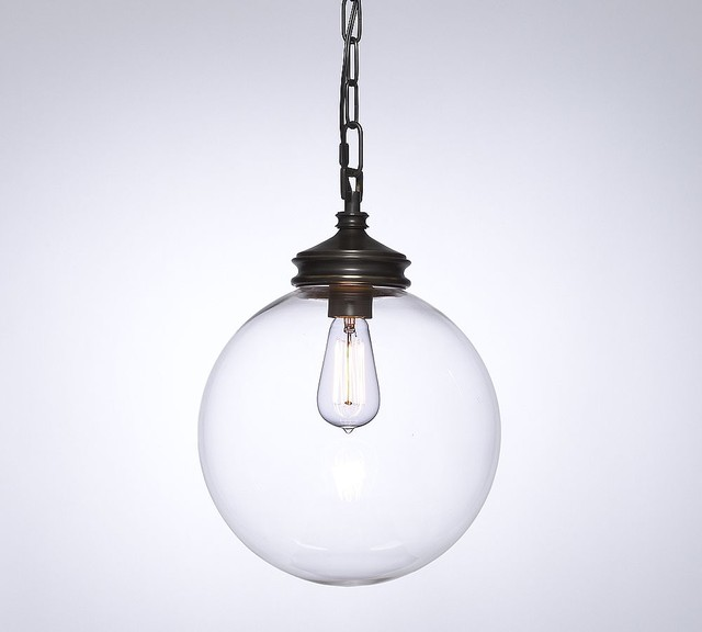 Calhoun Glass Pendant contemporary pendant lighting