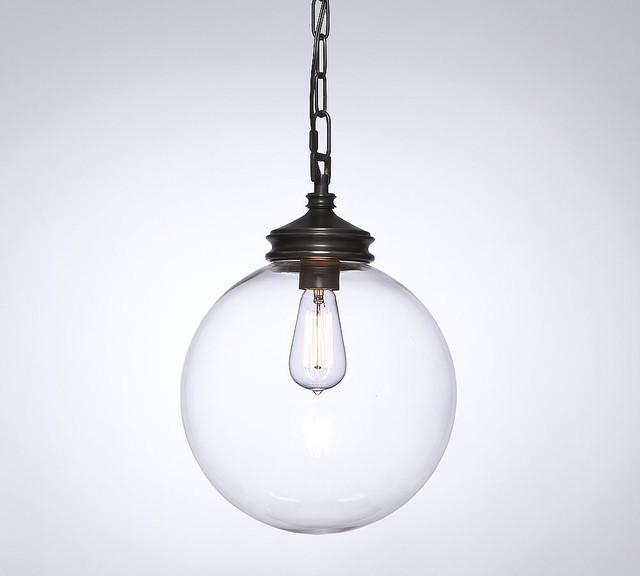 pendant pottery barn midcentury pendant lighting by pottery. Black Bedroom Furniture Sets. Home Design Ideas