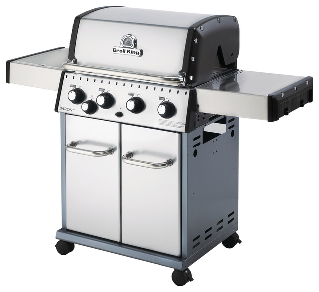 Baron 440 LP Gas Grill - Contemporary - Outdoor Grills ...