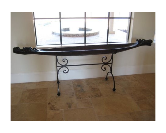 "Wrought Iron Ideas - Wrought Iron Stand. 1/2"" Solid square bars."