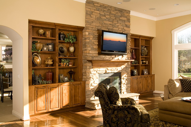 Bellmont Cabinet Co. - Traditional - Living Room - seattle - by Bellmont Cabinet Co.