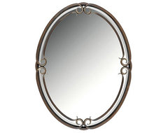 Duchess Beveled Mirror traditional mirrors