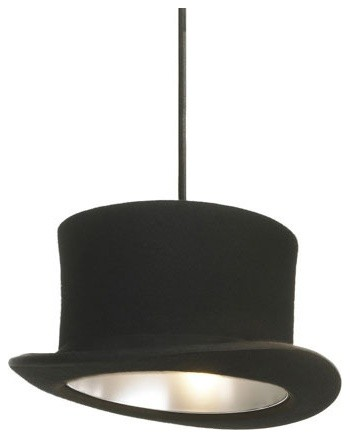 Wooster Hat Lamp by Jake Phipps modern pendant lighting