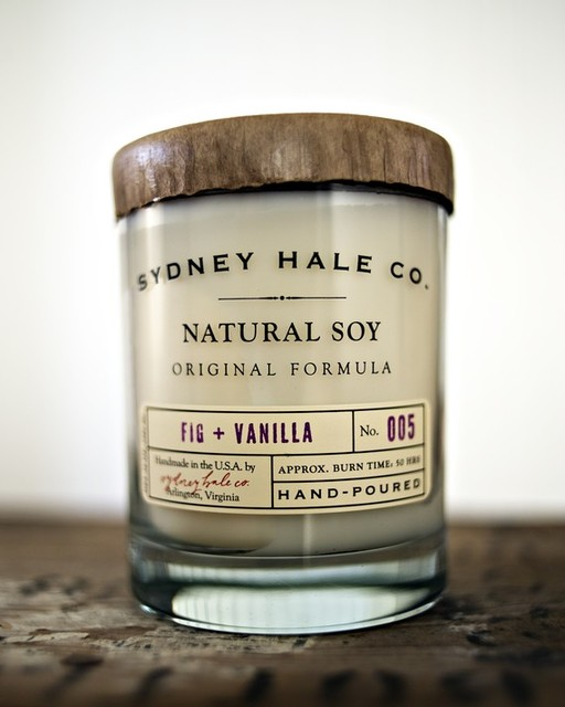 Soy Candle Fig and Vanilla by sydneyhale eclectic-candles