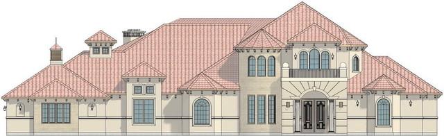 Various House Renders traditional-rendering
