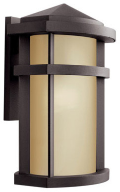 Lantana Architectural Bronze Outdoor Wall Mount traditional-outdoor-lighting