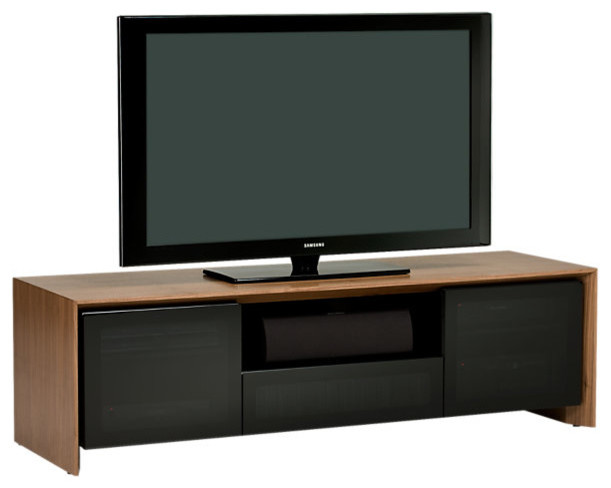 Casata Media Stand 86292, Walnut modern-media-storage