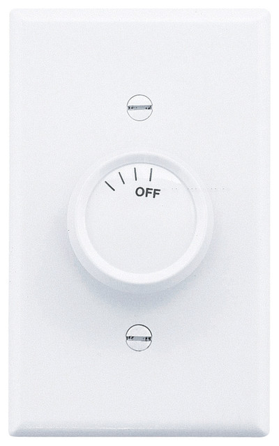 Emerson Fans SW93 Rotary 2 Fan Control-Ivory/White contemporary-ceiling-fan-accessories