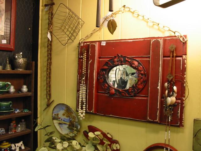 FuN Folk Art ~ Yellow Wall Hanger eclectic