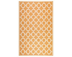 Espana Area Rug, Orange mediterranean rugs