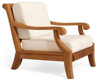 Giva Lounge Arm Chair Contemporary Outdoor Lounge Chairs By Teak Deals