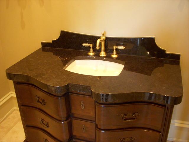 Custom Granite Vanity Tops : Custom stone counter tops marble and granite