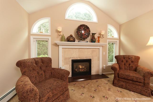 Design Services - Custom traditional-living-room