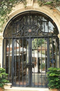 mizner apartment palm beach tropical front doors miami by