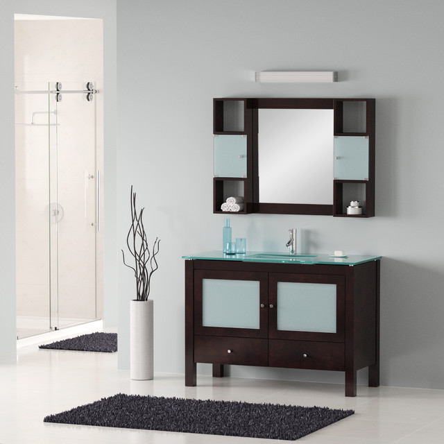"48"" Modern Bathroom Vanity - modern - bathroom vanities and sink"