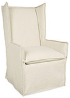 Slipcovered Chair C3717-41 by Lee Industries traditional-accent-chairs