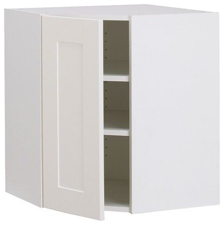 AKURUM Wall corner cabinet - modern - kitchen cabinets - by IKEA