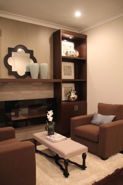 Rochester Avenue Residence - Living Room contemporary-living-room