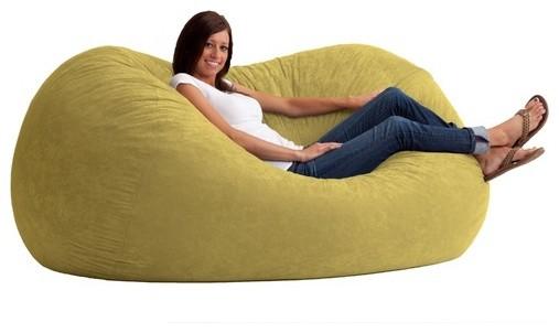 fuf extra large bean bag sofa modern chairs by wayfair