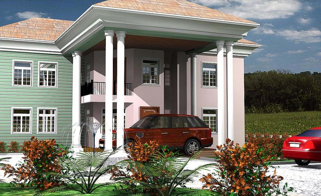 Contemporary Buildings traditional-rendering