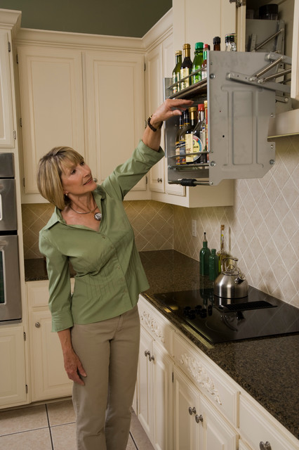 Kitchen Pull Down Shelves - Kitchen Drawer Organizers - other metro - by ShelfGenie National