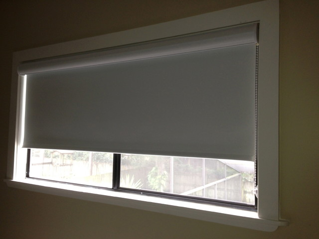 Shades and Blinds - Modern - Roller Shades - tampa - by Curtain Pros