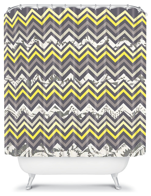 Gallery for gt chevron shower curtains