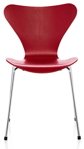 jacobsen series 7 chair colored ash modern dining