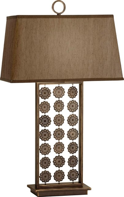 Murray Feiss MRF-10093ORBP Independents Transitional Table Lamp contemporary-table-lamps