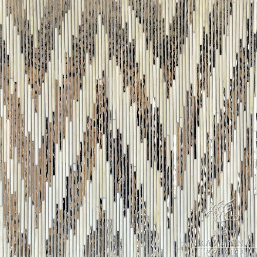 New Ravenna Mosaics Ikat Collection eclectic bathroom tile