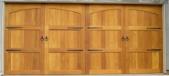 Wooden Garage Doors - Contemporary - Garage Doors And Openers - other metro - by M4L,Inc