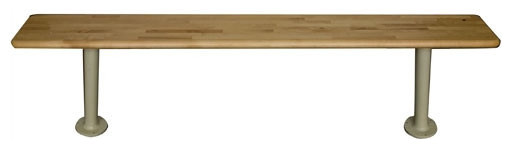 Maple Bench Top (Pedestals Sold Separately) modern-benches