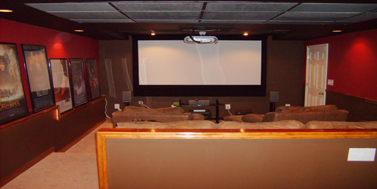 Home Theater Installers eclectic home electronics