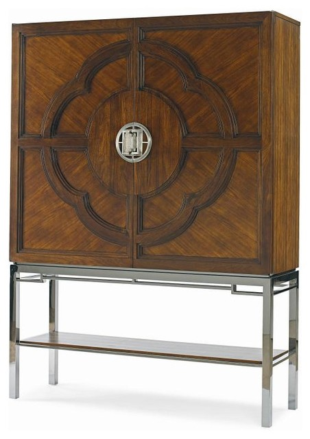 Lotis Bar Cabinet - Modern - Wine And Bar Cabinets - by Century Furniture