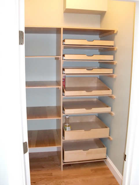 Pantry pull out shelves pantry cabinets portland by - Roll out shelving for pantry ...
