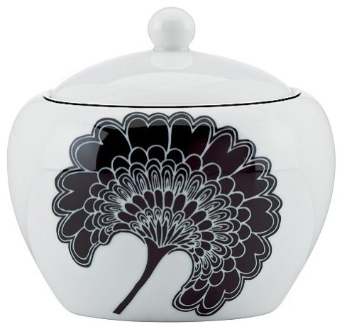 Kate Spade Japanese Floral Sugar Bowl asian-sugar-bowls-and-creamers