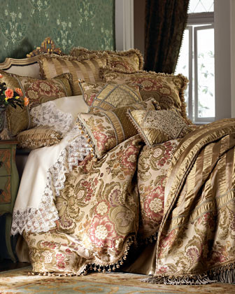 SWEET DREAMS. Inverness Bed Linens King Dust Skirt traditional-sheets