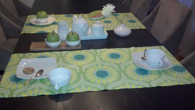 Pop Garden Duo Placemat/Table Runner modern-tablecloths