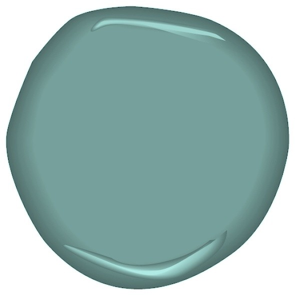 This blue-green color is a versatile classic for walls, furniture ...