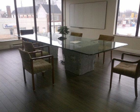 Unique Table Base For Office - This One Construction Office Conference Room -
