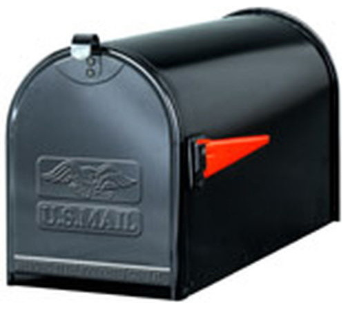 TB1B BL Plate Steel Mailbox - Modern - Mailboxes - by BuilderDepot, Inc.