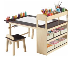 Deluxe Art Center modern-kids-tables-and-chairs