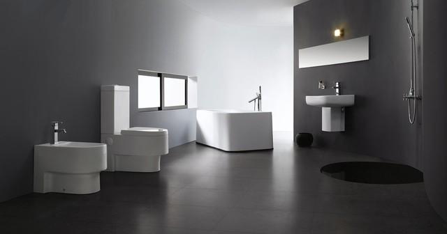Abruzzi Modern Bathroom Toilet Modern Toilets Dallas By The Interio