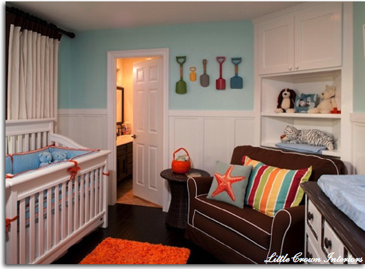 Cottage Beach Nursery eclectic-kids