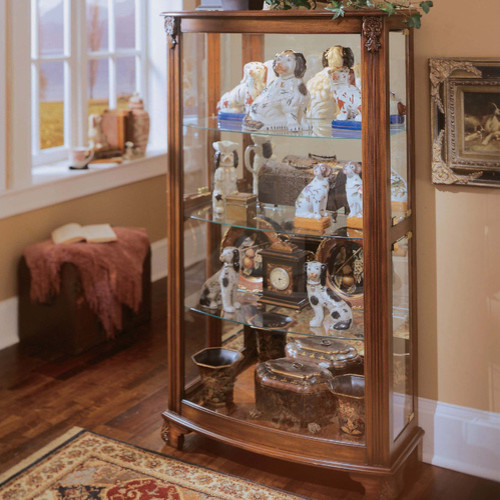 Keepsakes Curio Cabinet - Modern - China Cabinets And Hutches